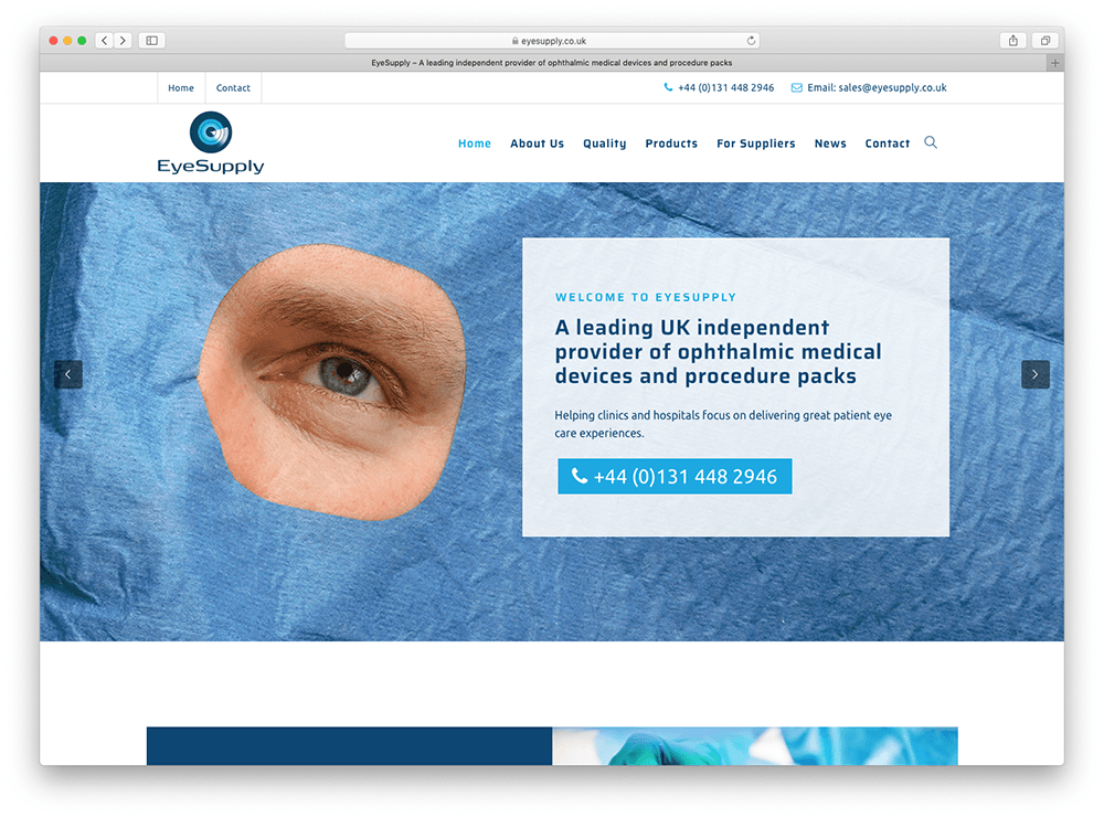 EyeSupply new website